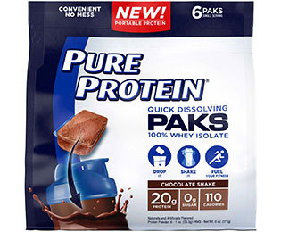 Pure Protein® Paks - Chocolate Shake