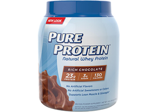 Natural Whey Protein Powder - Rich Chocolate