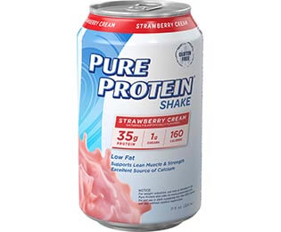 Strawberry Cream Shake - 35g protein