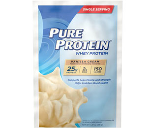 Whey Powder Single Serving Packet - Vanilla