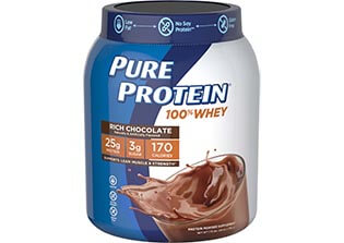 100% Whey Protein - Rich Chocolate (1.75 lb. Canister)
