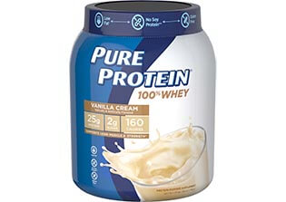100% Whey Protein - Vanilla Cream (1.75 lb. Canister)
