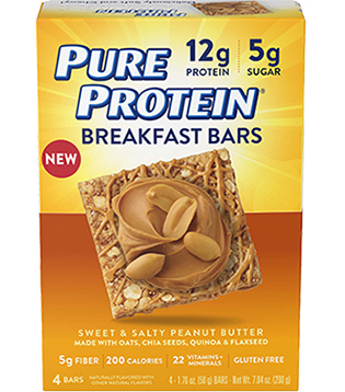 Breakfast Bar - Sweet & Salty Peanut Butter