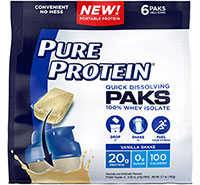 Pure Protein® Paks - Vanilla Shake - Click for more information or to buy now.