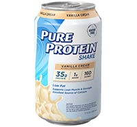 Vanilla Cream Shake - 35g protein [ppr-126326.jpg] - Click for More Information