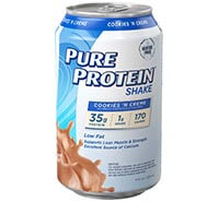Image of Cookies 'n Cream Shake - 35g protein packaging