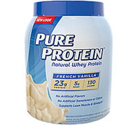 Natural Whey Protein Powder- French Vanilla [ppr-177632.jpg] - Click for More Information