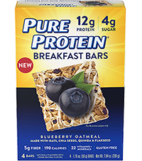 Image of Breakfast Bar - Blueberry Oatmeal packaging