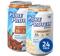 Image of 24 Pack Frosty Chocolate & Vanilla Cream packaging